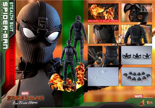 Hot Toys推出《蜘蛛侠: 英雄远征》蜘蛛侠1:6比例珍藏人偶 模玩 第8张