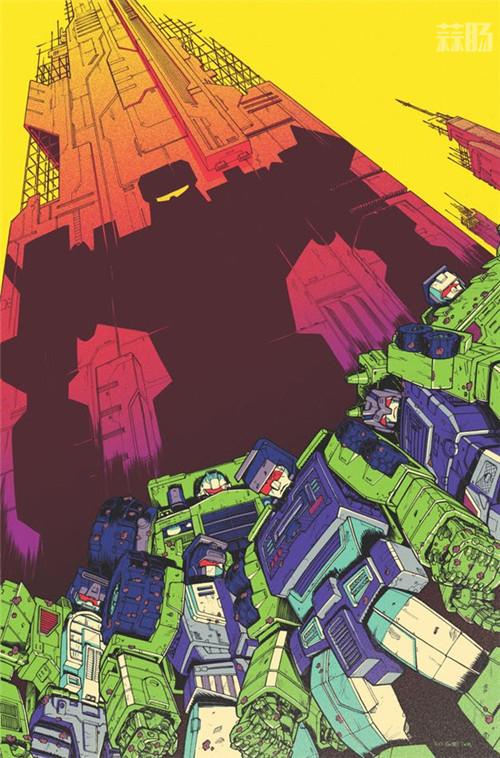 IDW推出新《变形金刚》漫画衍生系列《变形金刚:星系》挖地虎登场 变形金刚 第2张