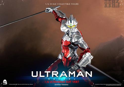 《机动奥特曼》ULTRAMAN(动画版)1/6比例可动人偶 模玩 第1张