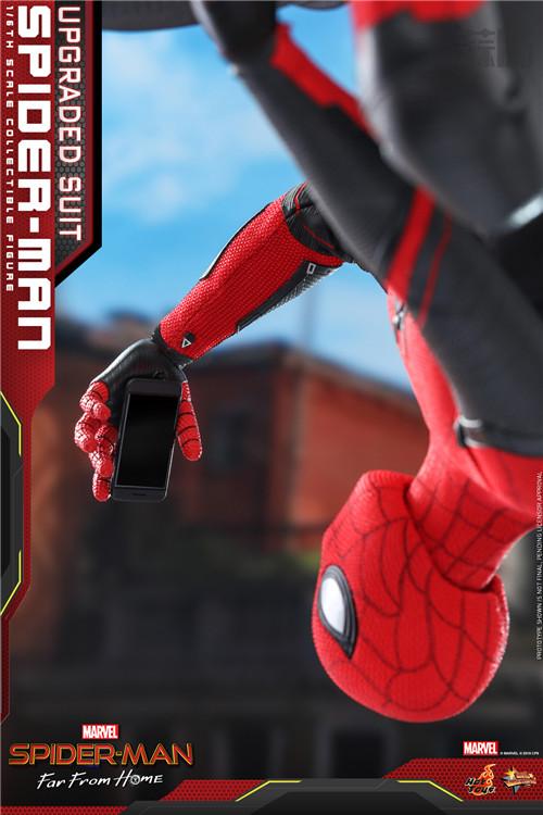 Hot Toys推出《蜘蛛侠: 英雄远征》蜘蛛侠 (升级战衣版) 1:6比例珍藏人偶 模玩 第5张