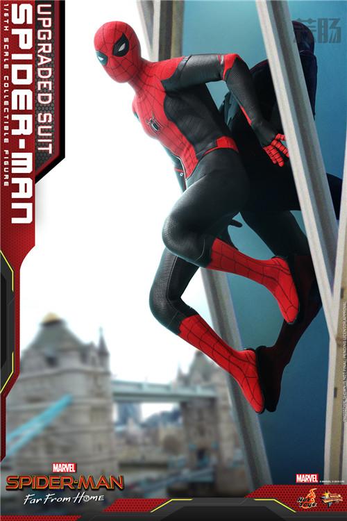 Hot Toys推出《蜘蛛侠: 英雄远征》蜘蛛侠 (升级战衣版) 1:6比例珍藏人偶 模玩 第4张