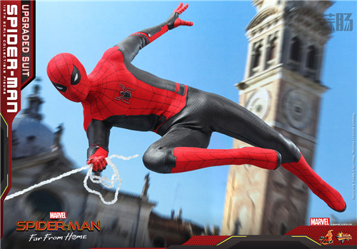 Hot Toys推出《蜘蛛侠: 英雄远征》蜘蛛侠 (升级战衣版) 1:6比例珍藏人偶 模玩 第6张
