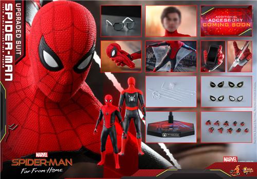 Hot Toys推出《蜘蛛侠: 英雄远征》蜘蛛侠 (升级战衣版) 1:6比例珍藏人偶 模玩 第8张
