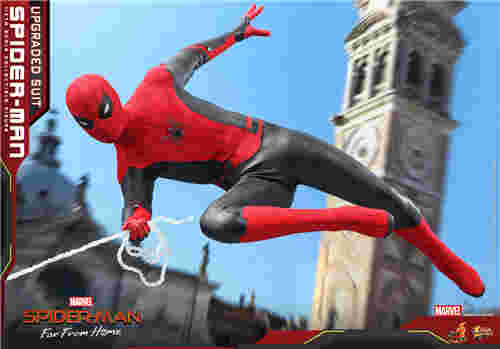 Hot Toys推出《蜘蛛侠: 英雄远征》蜘蛛侠 (升级战衣版) 1:6比例珍藏人偶