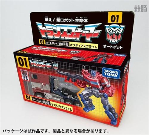 Takara Tomy推出变形金刚35周年纪念G1擎天柱与SS 38擎天柱 SS 38 擎天柱 Studio Series G1 汽车人 变形金刚 变形金刚  第3张