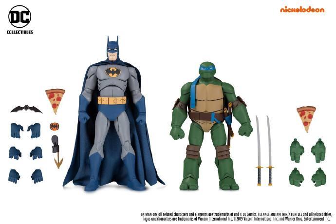 DC Collectibles发布GameStop Exclusive Batman vs TMNT 2-Packs发售信息!