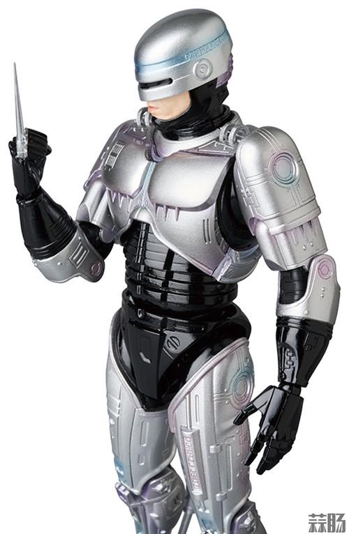 MedicomToy MAFEX系列《机械战警3》可动人偶 模玩 第2张