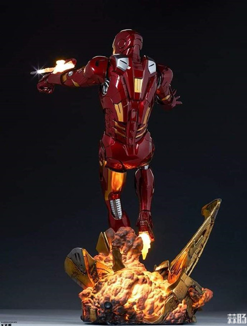 Sideshow Collectibles 复仇者联盟 Iron Man Mark VII Maquette 1:4 雕像 复仇者联盟 钢铁侠 Sideshow Collectibles 模玩  第1张