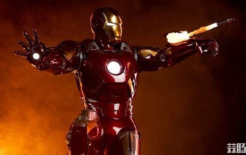 Sideshow Collectibles 复仇者联盟 Iron Man Mark VII Maquette 1:4 雕像 模玩 第6张