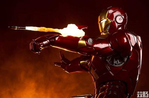 Sideshow Collectibles 复仇者联盟 Iron Man Mark VII Maquette 1:4 雕像 模玩 第5张