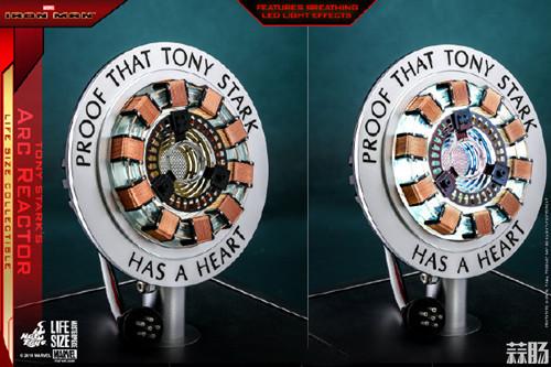 Hot Toys《钢铁侠》托尼•斯塔克胸口反应器1:1比例珍藏品