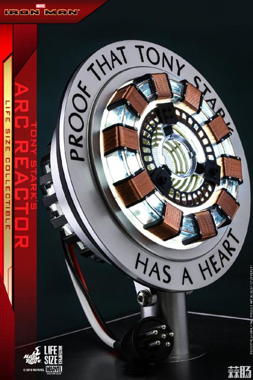 Hot Toys《钢铁侠》托尼•斯塔克胸口反应器1:1比例珍藏品 模玩 第4张