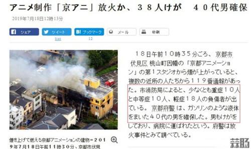 日本京都动画发生爆炸 死伤多人? 动漫 第1张