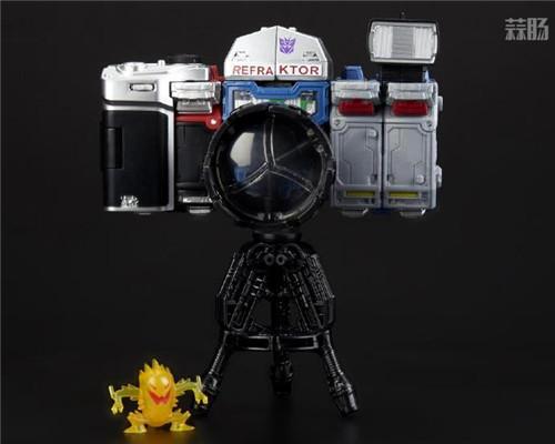 孩之宝推出粉丝限定版变形金刚围城照相机G1配色玩具 变形金刚 第5张