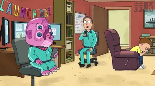 《瑞克和莫蒂》第四季首曝片段 《雷神3》导演献声 动漫 第1张