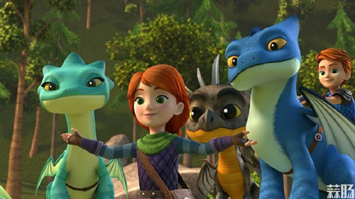 《驯龙高手》将推出外传动画《Dragons: Rescue Riders》
