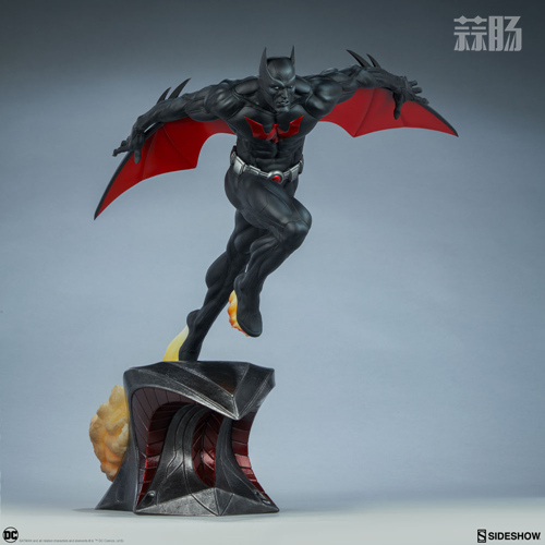 Sideshow 发布未来蝙蝠侠泰瑞·麦金纳斯雕像 模玩 第1张
