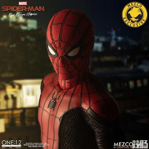 Mezco Toyz蚂蚁推出1/12《蜘蛛侠:英雄远征》蜘蛛侠DX版 模玩 第1张