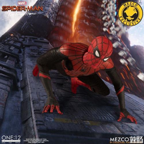 Mezco Toyz蚂蚁推出1/12《蜘蛛侠:英雄远征》蜘蛛侠DX版 模玩 第4张