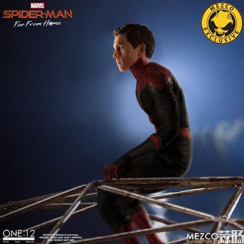 Mezco Toyz蚂蚁推出1/12《蜘蛛侠:英雄远征》蜘蛛侠DX版 模玩 第8张