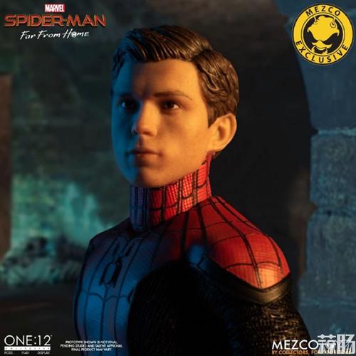 Mezco Toyz蚂蚁推出1/12《蜘蛛侠:英雄远征》蜘蛛侠DX版