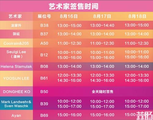 """史上最全2019BTS逛展攻略来袭 这个夏天一起玩转""""潮玩游乐场""""! 漫展 第5张"""