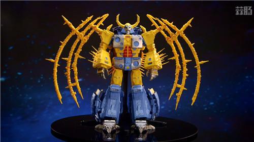 《变形金刚》最大玩具宇宙大帝机器人上色版欣赏 细节满满 变形金刚 第1张