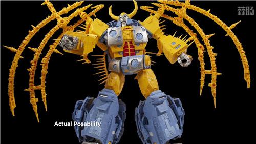 《变形金刚》最大玩具宇宙大帝机器人上色版欣赏 细节满满 变形金刚 第2张