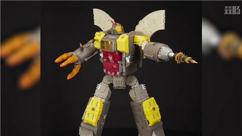 《变形金刚》最大玩具宇宙大帝机器人上色版欣赏 细节满满 变形金刚 第5张