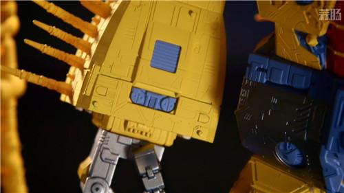 《变形金刚》最大玩具宇宙大帝机器人上色版欣赏 细节满满 变形金刚 第9张