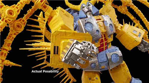 《变形金刚》最大玩具宇宙大帝机器人上色版欣赏 细节满满