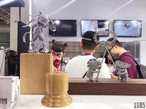 《哪吒之魔童降世》手办原型亮相BTS潮流玩具展 动漫 第1张
