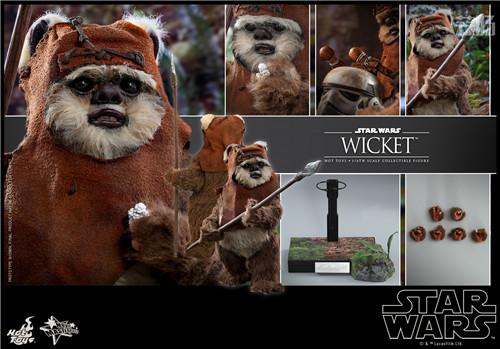 Hot Toys推出Wicket与莱娅公主两款全新《星球大战:绝地归来》1:6珍藏人偶 模玩 第4张