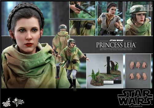 Hot Toys推出Wicket与莱娅公主两款全新《星球大战:绝地归来》1:6珍藏人偶 模玩 第7张