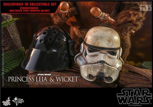 Hot Toys推出Wicket与莱娅公主两款全新《星球大战:绝地归来》1:6珍藏人偶 模玩 第8张