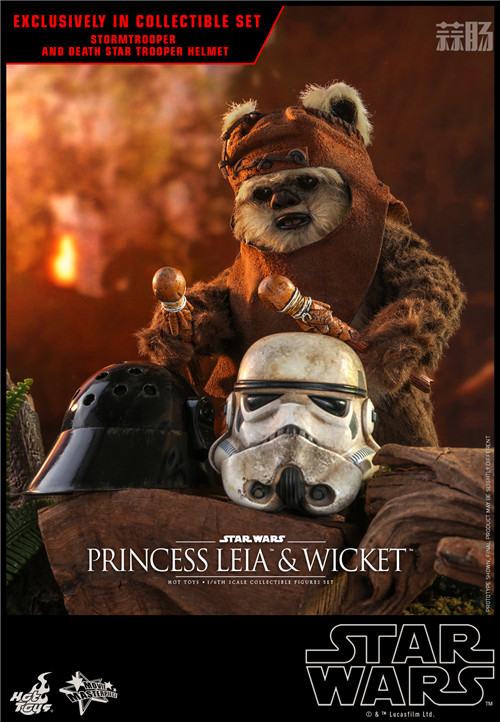Hot Toys推出Wicket与莱娅公主两款全新《星球大战:绝地归来》1:6珍藏人偶 模玩 第9张