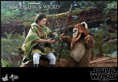 Hot Toys推出Wicket与莱娅公主两款全新《星球大战:绝地归来》1:6珍藏人偶 模玩 第1张