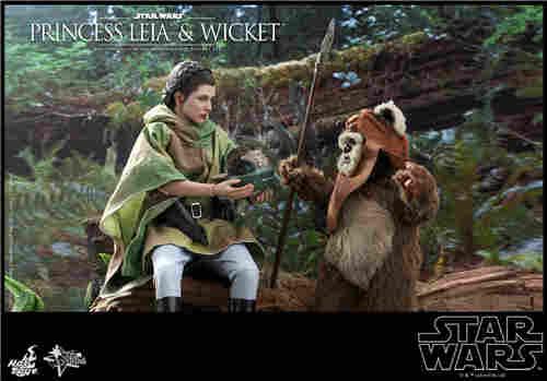 Hot Toys推出Wicket与莱娅公主两款全新《星球大战:绝地归来》1:6珍藏人偶