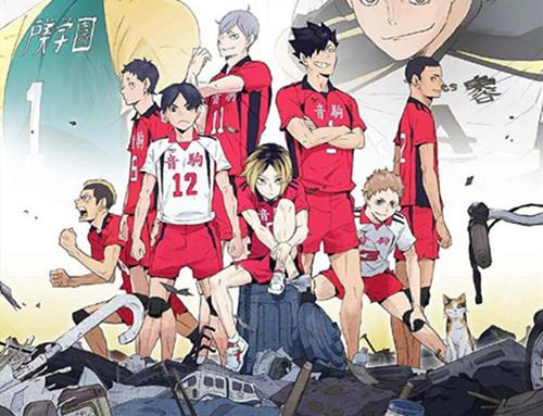 """《排球少年》全新OVA动画""""陆VS空""""主视觉图公开!"""