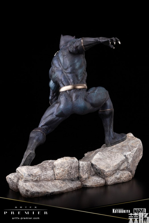 寿屋公布 1/10 ARTFX PREMIER Series Black Panther黑豹 模玩 第2张