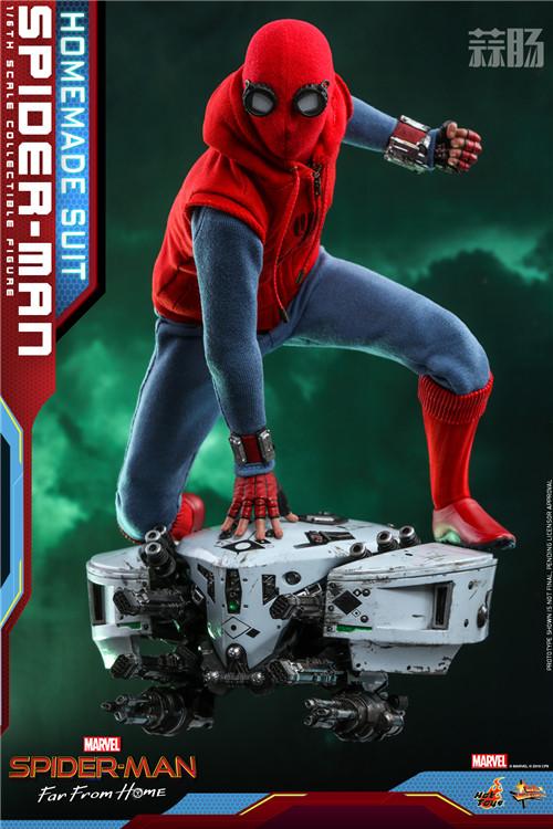 Hot Toys推出《蜘蛛侠: 英雄远征》蜘蛛侠 (自制战衣版) 1:6人偶 模玩 第4张