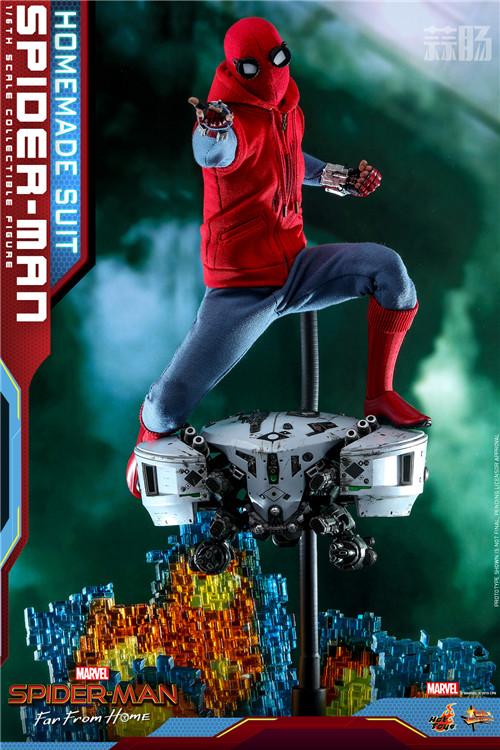 Hot Toys推出《蜘蛛侠: 英雄远征》蜘蛛侠 (自制战衣版) 1:6人偶 模玩 第5张