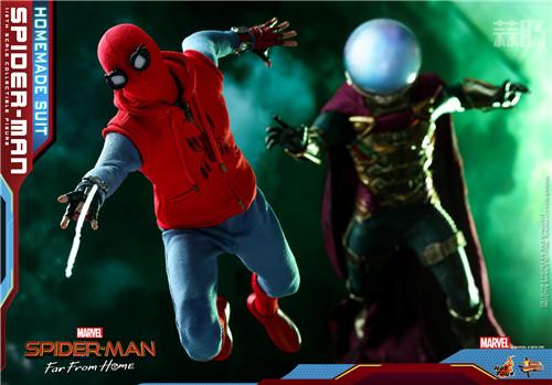 Hot Toys推出《蜘蛛侠: 英雄远征》蜘蛛侠 (自制战衣版) 1:6人偶 模玩 第2张