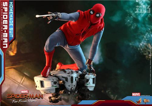 Hot Toys推出《蜘蛛侠: 英雄远征》蜘蛛侠 (自制战衣版) 1:6人偶 模玩 第7张