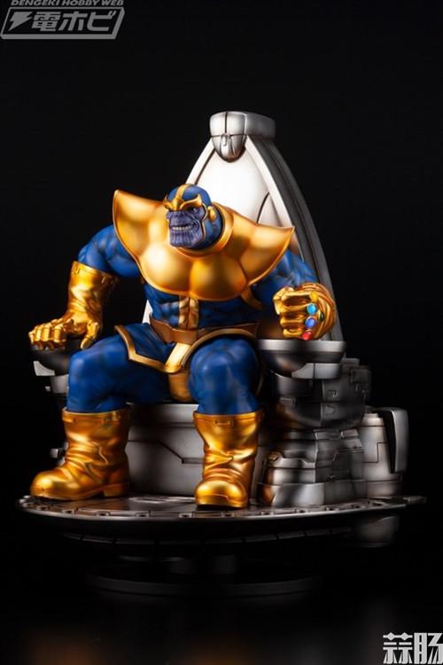 寿屋公布 1/6 Marvel漫画系列灭霸 模玩 第1张