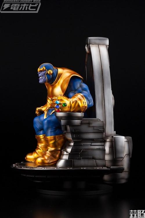 寿屋公布 1/6 Marvel漫画系列灭霸 模玩 第6张