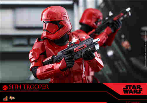 Hot Toys推出《星球大战9:天行者崛起》西斯兵1:6比例珍藏人偶