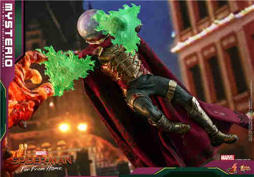 Hot Toys推出《蜘蛛侠:英雄远征》神秘客1:6比例人偶