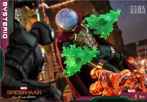 Hot Toys推出《蜘蛛侠:英雄远征》神秘客1:6比例人偶 模玩 第2张