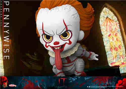 Hot Toys推出《小丑回魂2》COSBABY迷你珍藏人偶